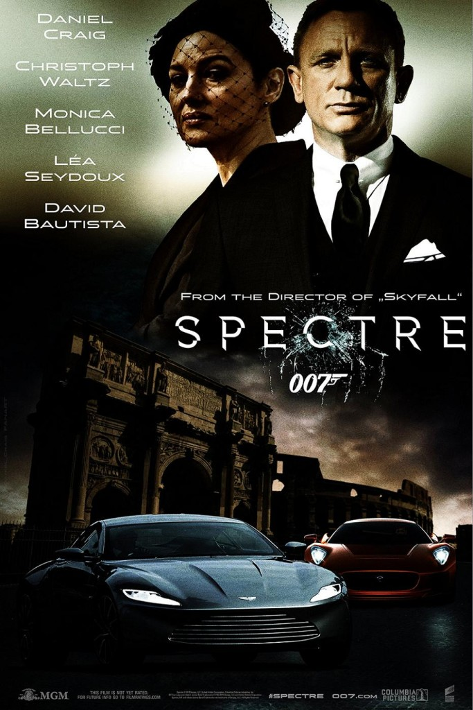 007: Спектр / Spectre (2015): постер
