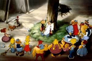 Большой бой Астерикса / Astérix et le coup du menhir (1989): кадр из фильма