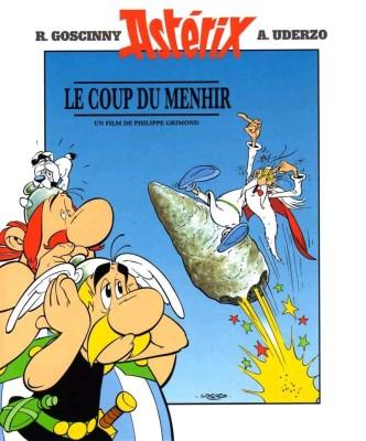 Большой бой Астерикса / Astérix et le coup du menhir (1989): постер