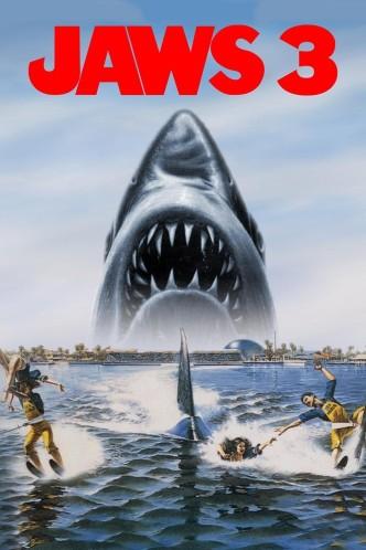Челюсти 3 / Jaws 3-D (1983): постер