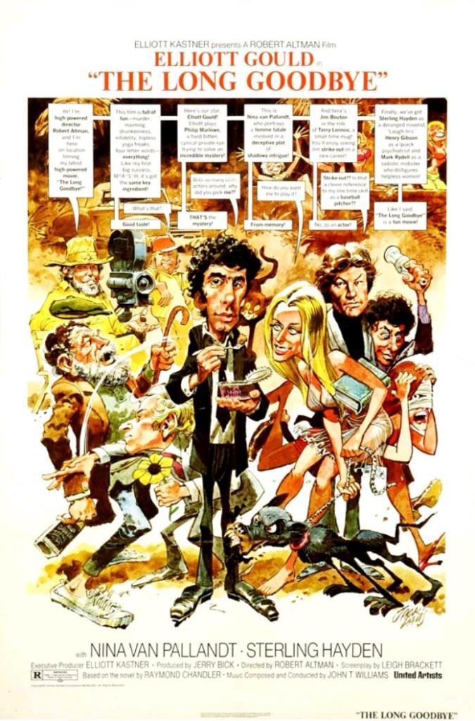 Долгое прощание / The Long Goodbye (1973): постер