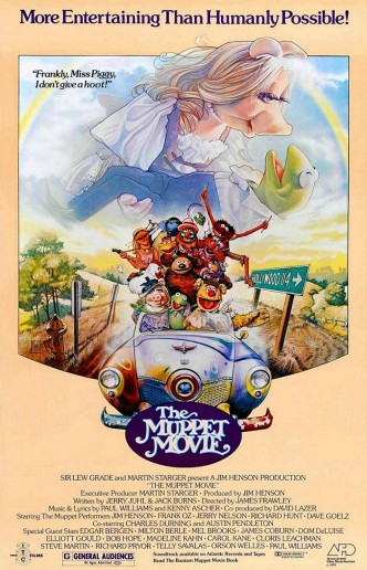 Маппеты / The Muppet Movie (1979): постер
