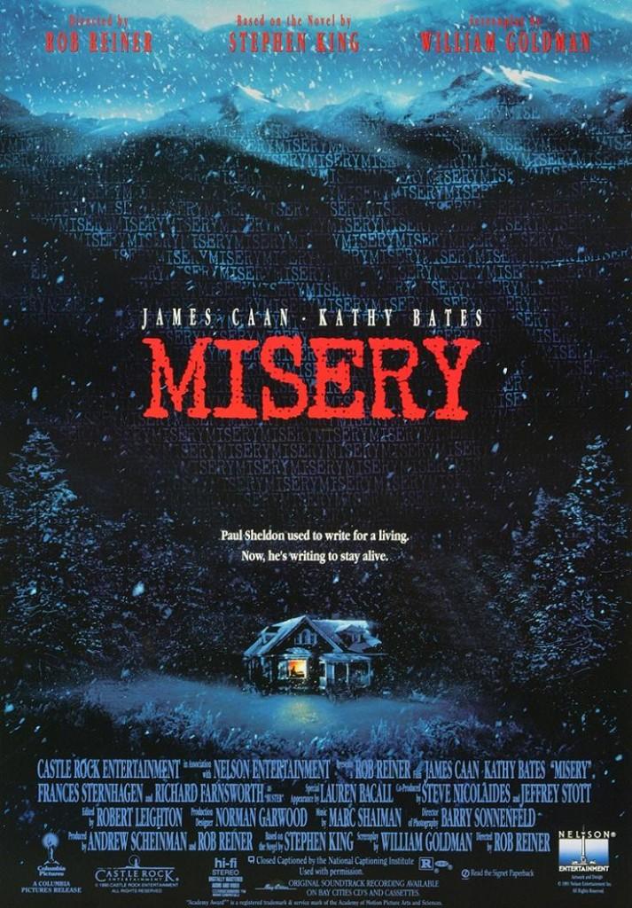 Мизери / Misery (1990): постер