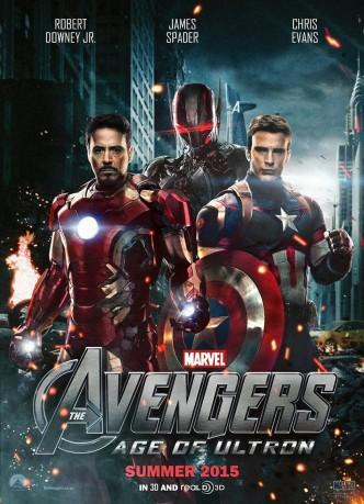 Мстители: Эра Альтрона / Avengers: Age of Ultron (2015): постер