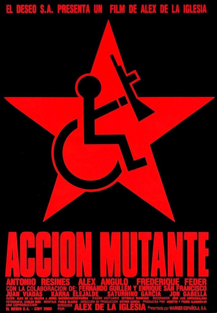 Операция Мутанты / Acción mutante / Action mutante (1993): постер