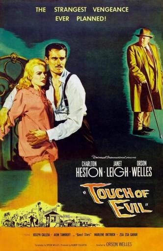 Печать зла / Touch of Evil (1958): постер