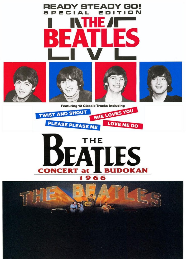 Ready Steady Go! The Beatles Live / Ready Steady Go! The Beatles Live (1985) (видео): постер