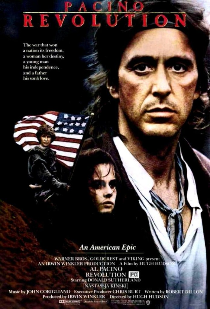 Революция / Revolution (1985): постер