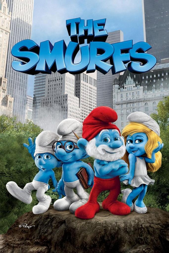 Смурфики / The Smurfs (2011): постер