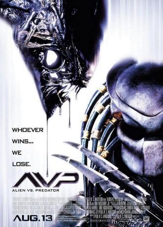 Чужой против Хищника / AVP: Alien vs. Predator / AVP: Alien vs. Prédateur (2004): постер