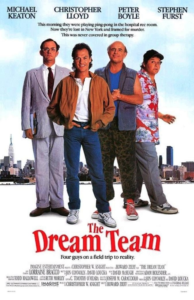 Команда мечты / The Dream Team (1989): постер