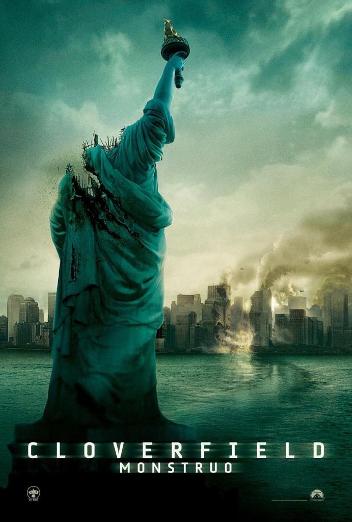 Монстро / Cloverfield (2008): постер
