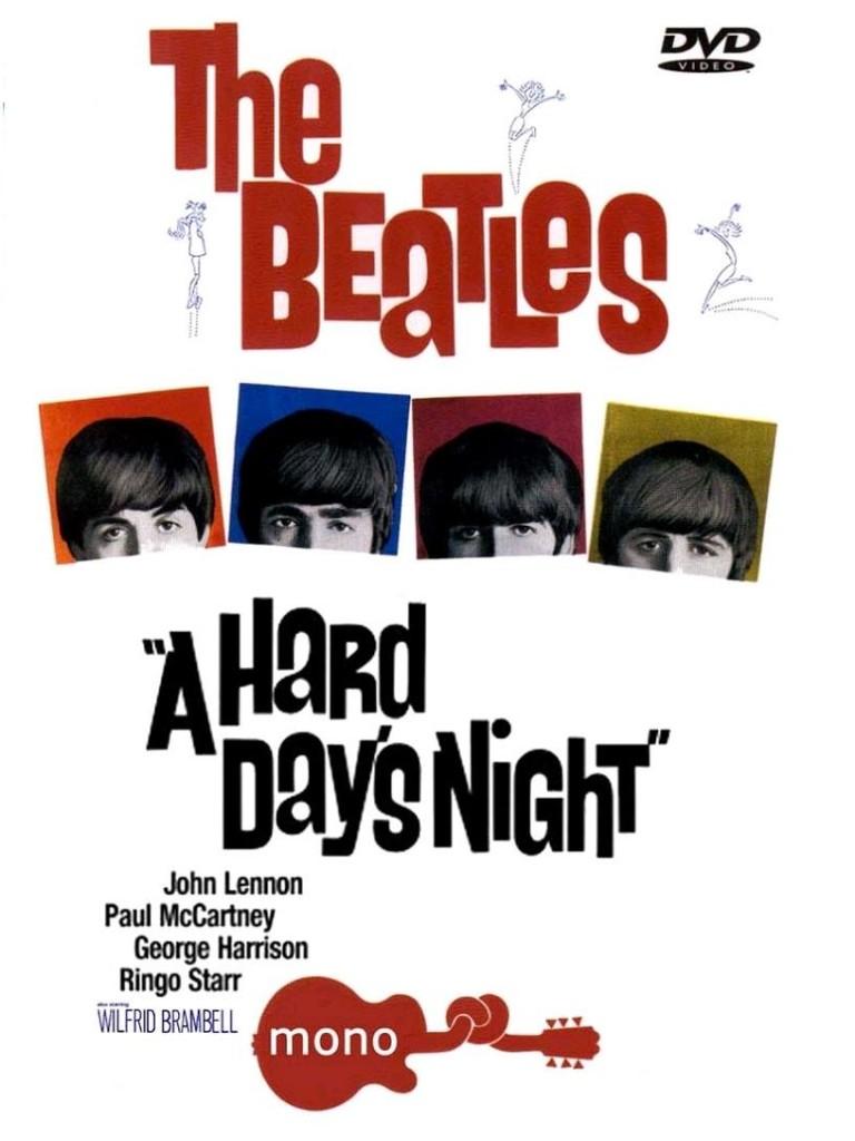 Вечер трудного дня / A Hard Day's Night (1964): постер