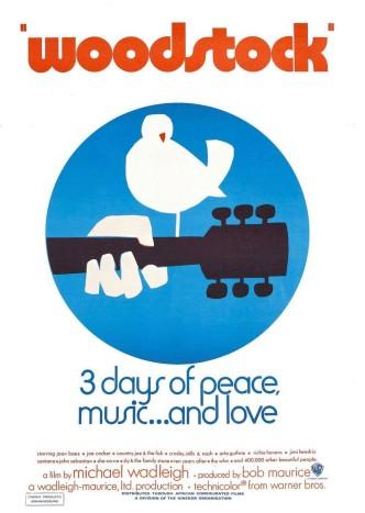Вудсток / Woodstock (1970): постер