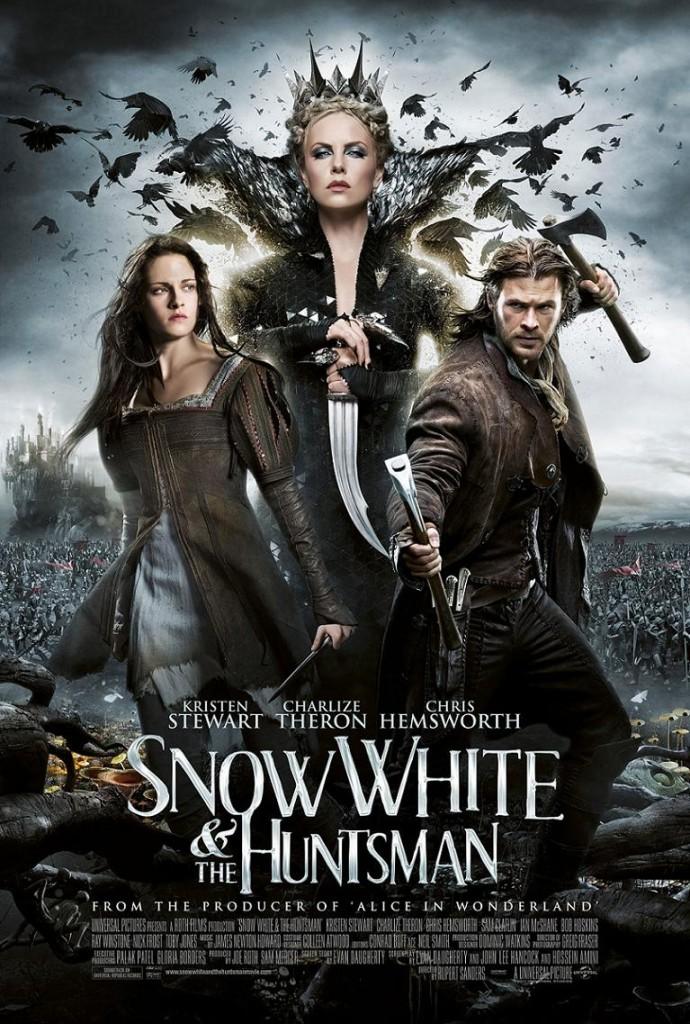 Белоснежка и охотник / Snow White and the Huntsman (2012): постер