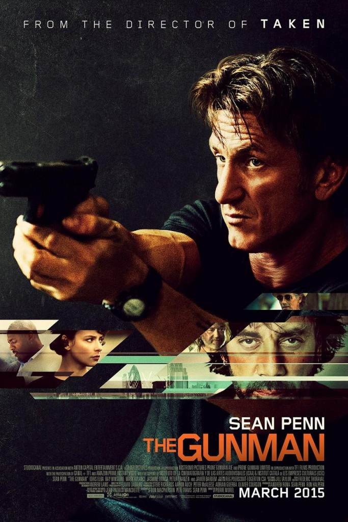 Ганмэн / The Gunman (2015): постер