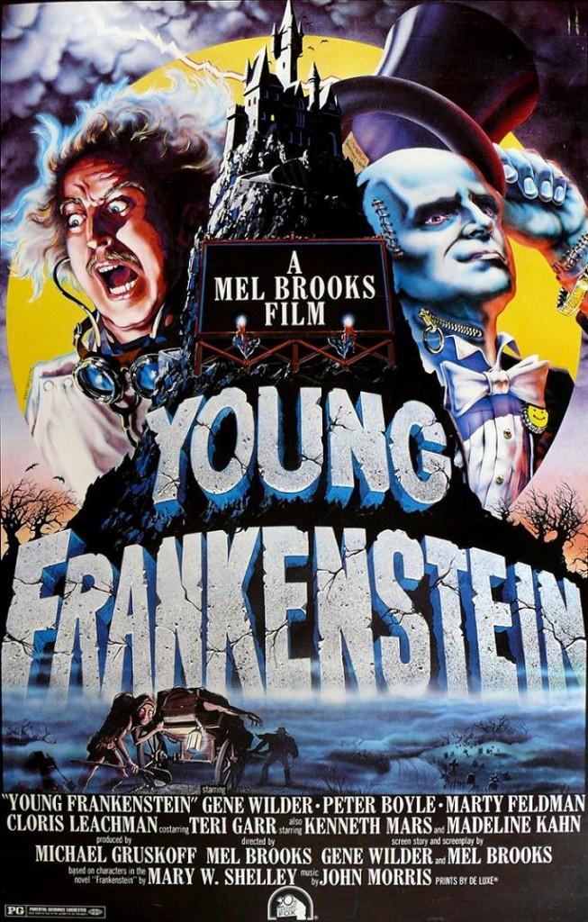 Молодой Франкенштейн / Young Frankenstein (1974): постер