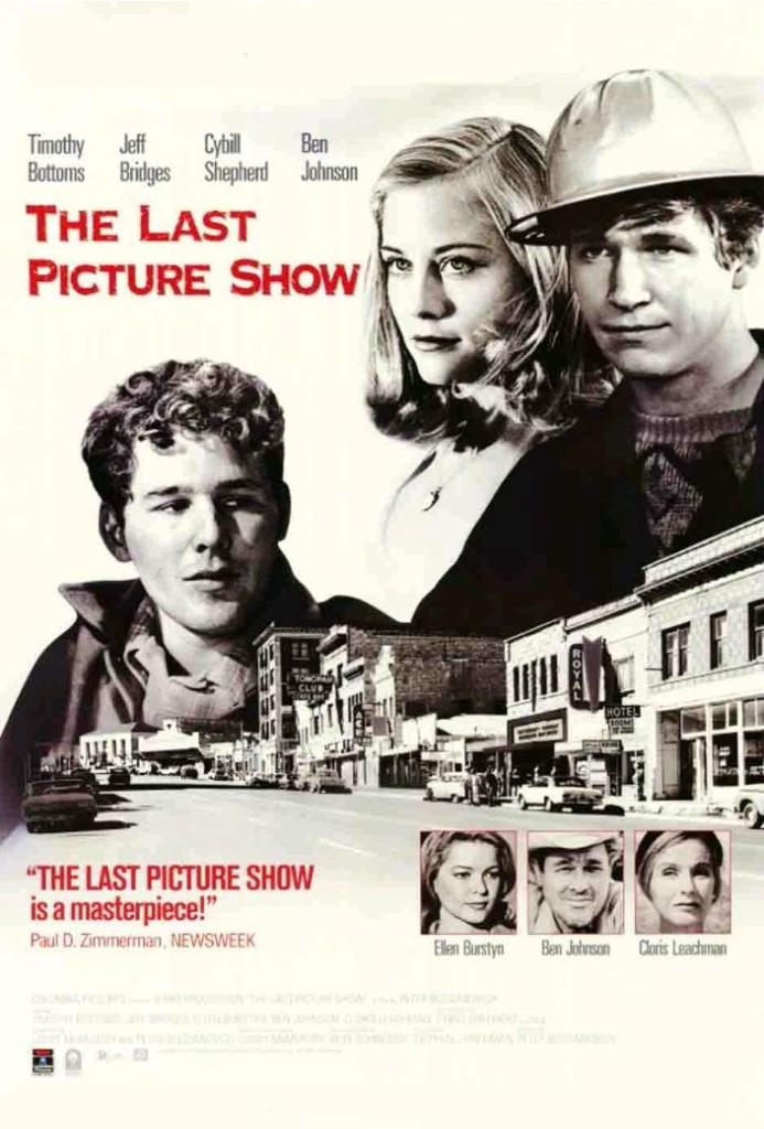 Последний киносеанс / The Last Picture Show (1971): постер