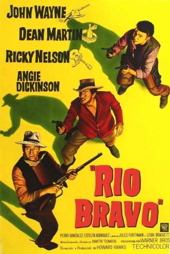 Рио Браво / Rio Bravo (1956): постер