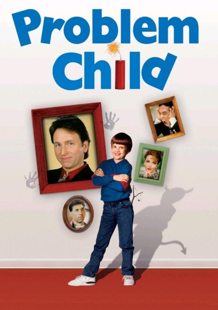 Трудный ребёнок / Problem Child (1990): постер