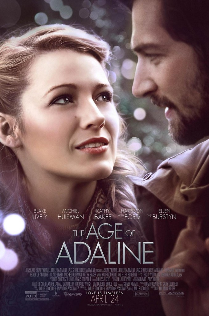 Век Адалин / The Age of Adaline (2015): постер