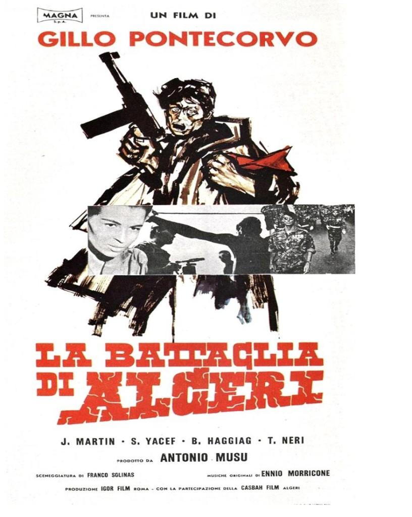 Битва за Алжир / La battaglia di Algeri (1966): постер