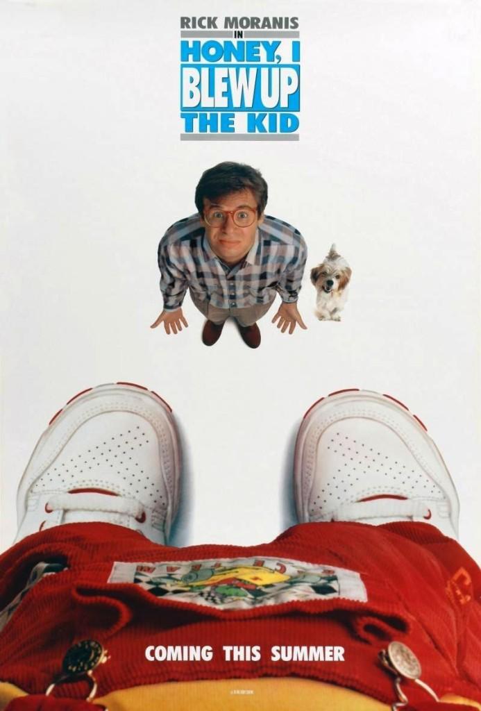 Дорогая, я увеличил ребёнка / Honey I Blew Up the Kid (1992): постер