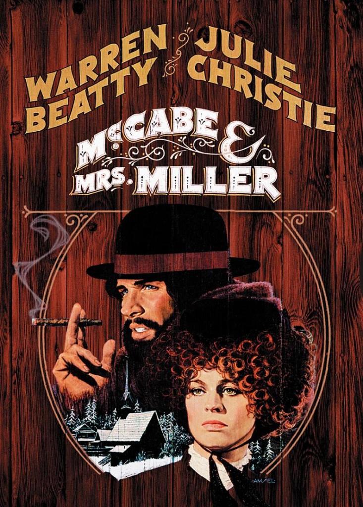 МакКейб и миссис Миллер / McCabe & Mrs. Miller (1971): постер
