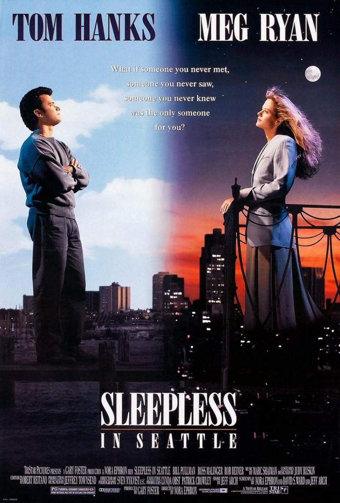 Неспящие в Сиэтле / Sleepless in Seattle (1993): постер