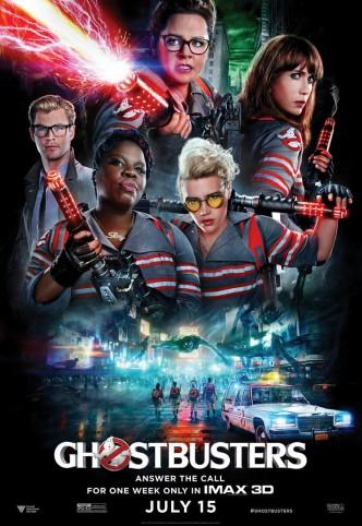 Охотники за привидениями / Ghostbusters (2016): постер