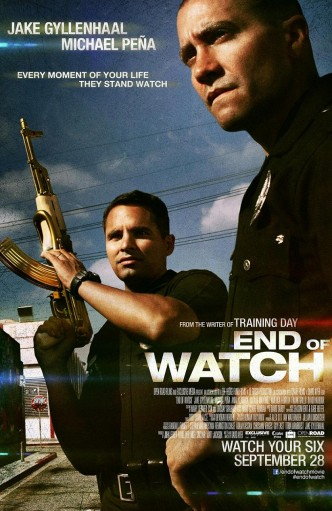 Патруль / End of Watch (2012): постер