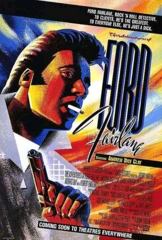 Приключения Форда Фэрлейна / The Adventures of Ford Fairlane (1990): постер