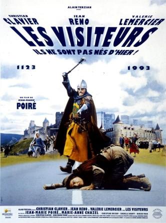 Пришельцы / Les visiteurs (1993): постер