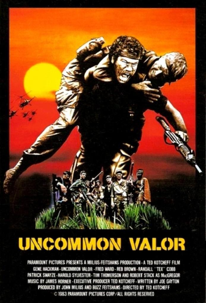 Редкая отвага / Uncommon Valor (1983): постер