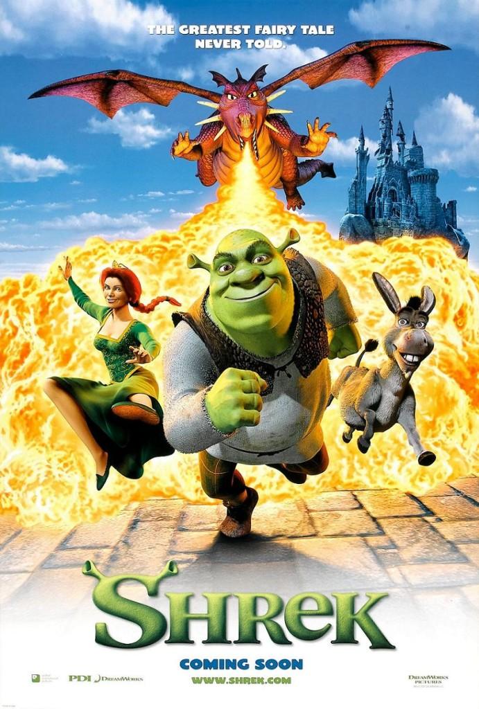 Шрек / Shrek (2001): постер