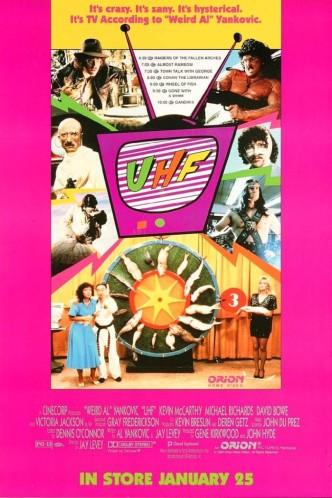 Ультравысокая частота / UHF (1989): постер