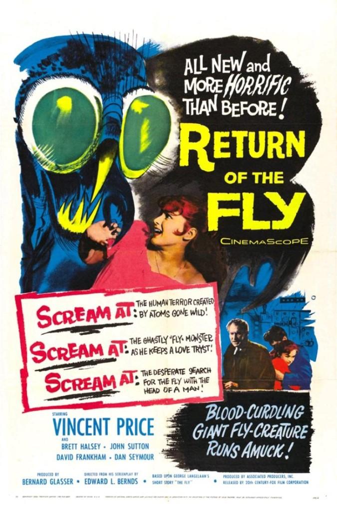Возвращение мухи / Return of the Fly (1959): постер