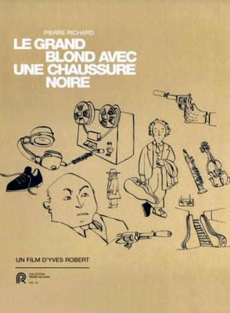 Высокий блондин в чёрном ботинке / Le grand blond avec une chaussure noire (1972): постер