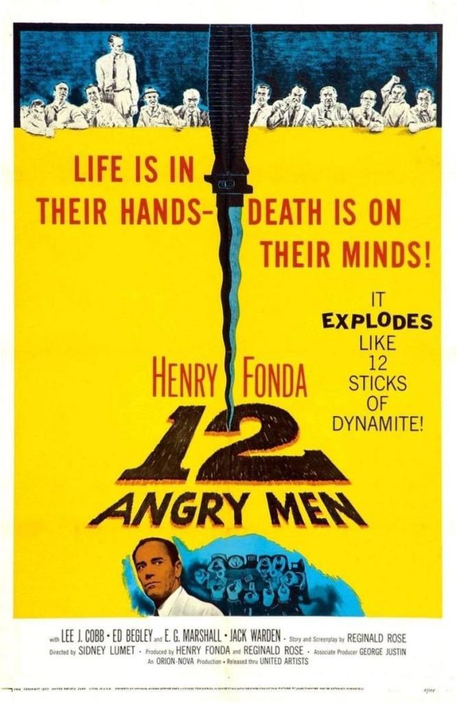 12 разгневанных мужчин / 12 Angry Men (1957): постер