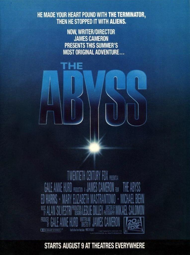 Бездна / The Abyss (1989): постер
