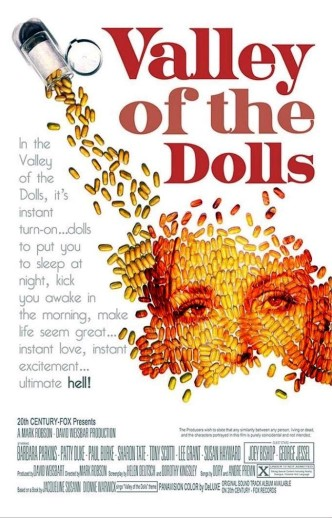 Долина кукол / Valley of the Dolls (1967): постер