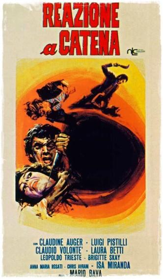 Кровавый залив / Reazione a catena (1971): постер