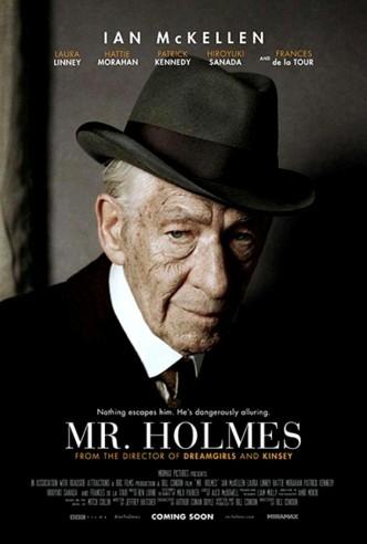 Мистер Холмс / Mr. Holmes (2015): постер
