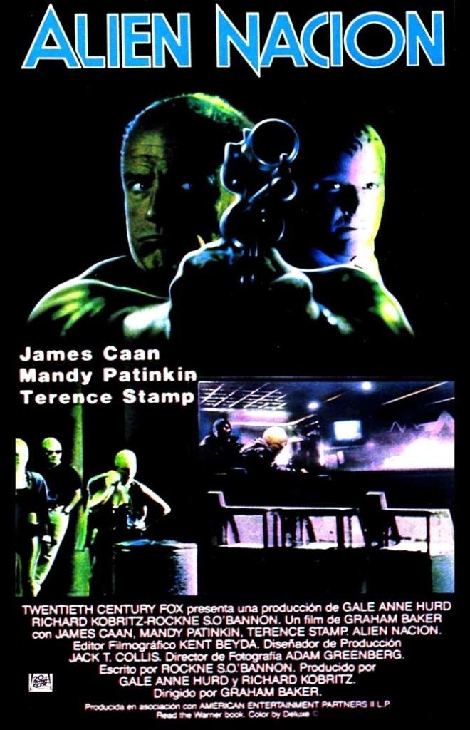 Нация пришельцев / Alien Nation (1988): постер