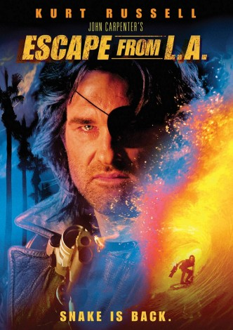 Побег из Лос-Анджелеса / Escape from L.A. (1996): постер