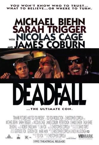 Смертельное падение / Deadfall (1993): постер