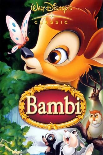 Бэмби / Bambi (1942): постер