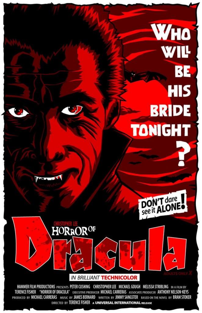 Дракула / Dracula (1958): постер