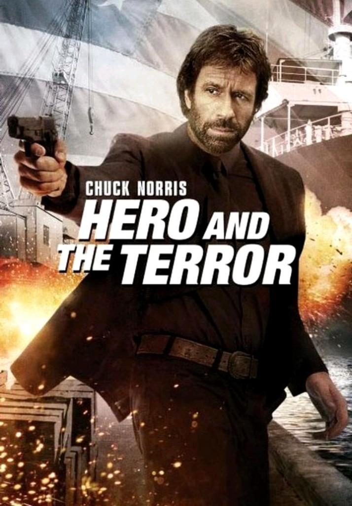 Герой и Ужас / Hero and the Terror (1989): постер