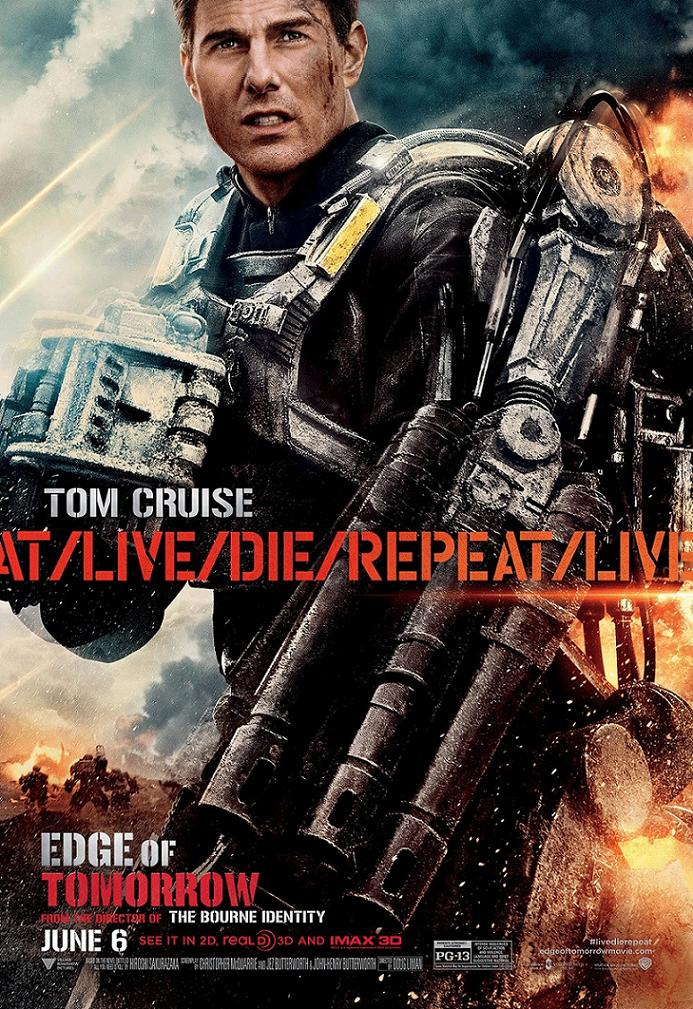 Грань будущего / Edge of Tomorrow (2014): постер